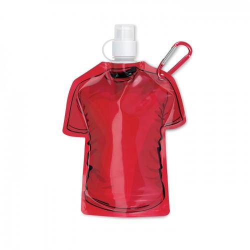 T-shirt foldable bottle in white