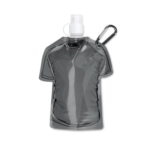 T-shirt foldable bottle in black