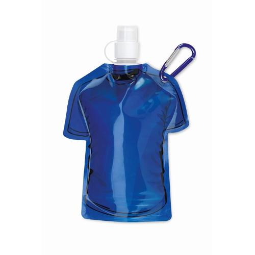 T-shirt foldable bottle in royal-blue