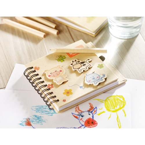 Children'S Notepad With Pencil in