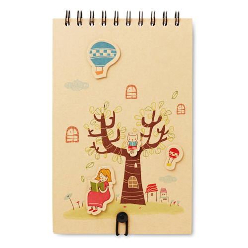A5 Drawing Pad in beige