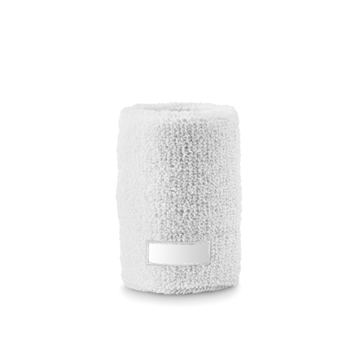 Sweat Wristband in white