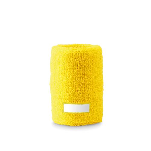 Sweat Wristband in yellow