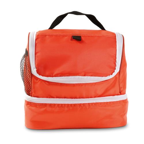Cooler bag in orange
