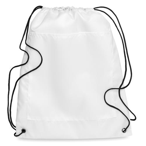 Drawstring Cooler Bag in white