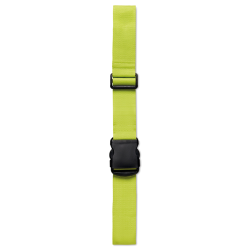 Luggage Strap in lime