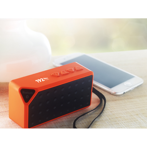 Rectangular Bluetooth Speaker in white