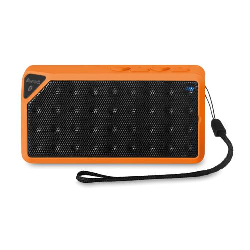 Rectangular Bluetooth Speaker in orange