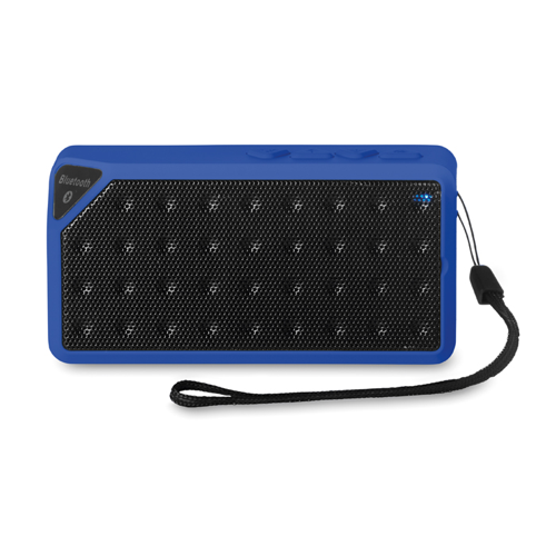 Rectangular Bluetooth Speaker in royal-blue