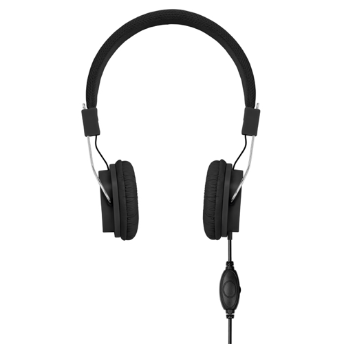 Headphones in black