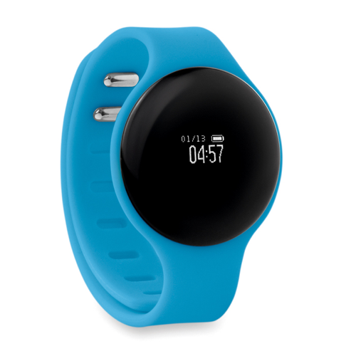 Health wristband in turquoise