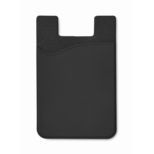 Silicone Cardholder in black