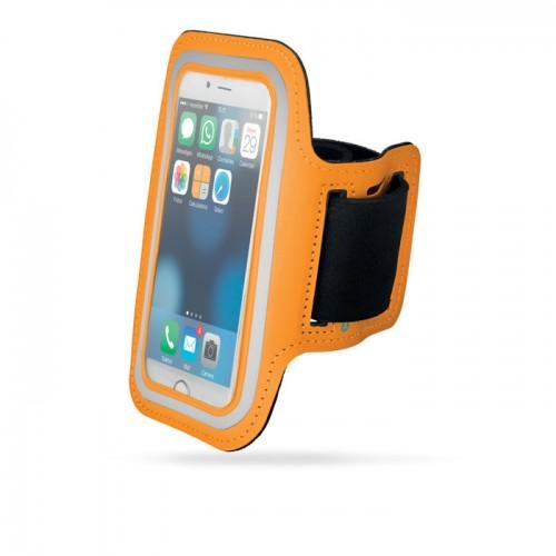 Neoprene armband pouch          in orange