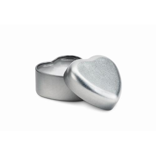 Lip Balm in heart shape tin     in