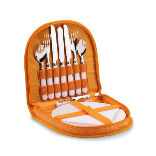 Basic Picnic Set in orange