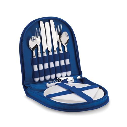 Basic Picnic Set in royal-blue