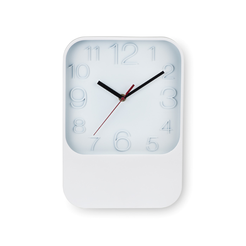 Wall Clock in white