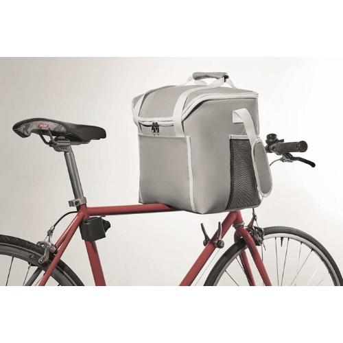 Cooler Bag 600D Polyester in grey