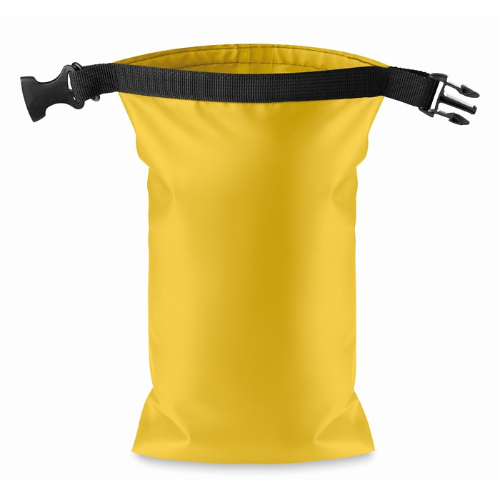 Water resistant bag PVC small in yellow
