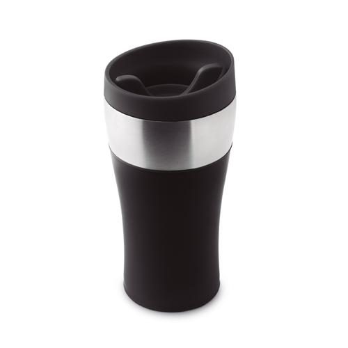 350 Ml Double Wall Mug in black