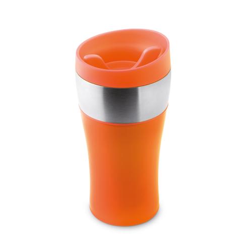350 Ml Double Wall Mug in orange