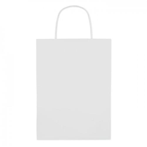 Gift paper bag medium size in beige