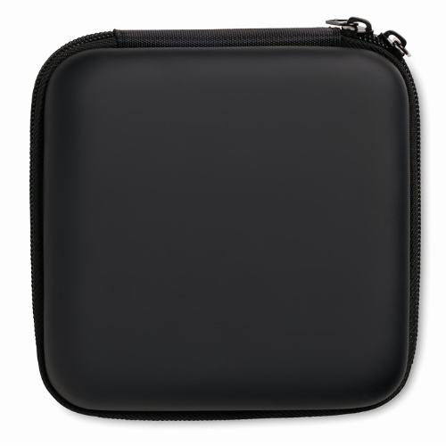Computer accessories pouch in black
