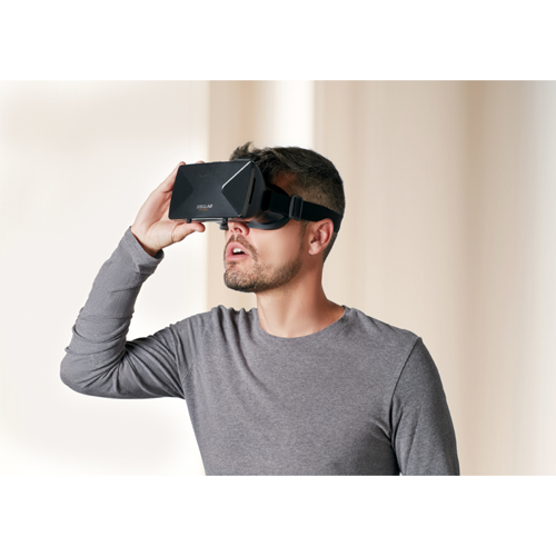 3D Virtual Reality Glasses in black