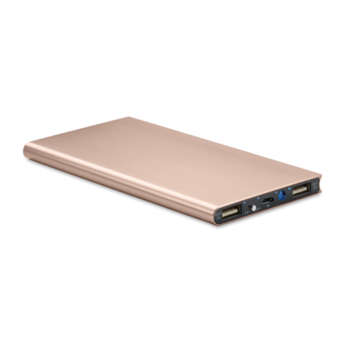 Power Bank 8000 Mah in champagne