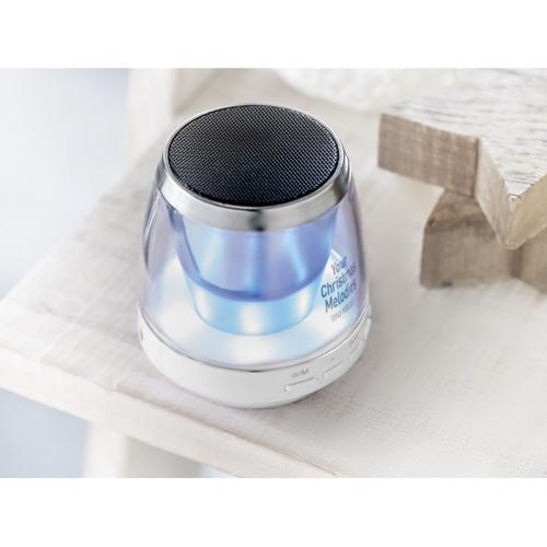 Mood Light Bluetooth Speaker in white