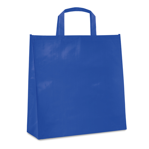 Pp Woven Laminated Bag in royal-blue