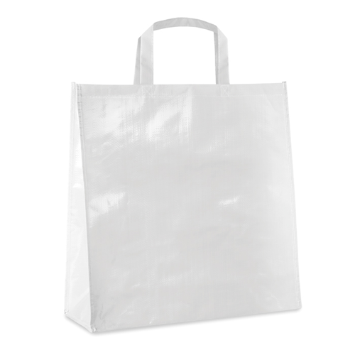 Pp Woven Laminated Bag in white