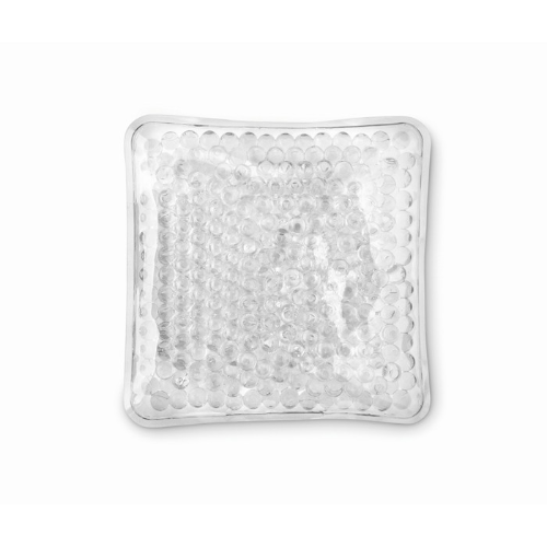 Hot and cold pack in transparent