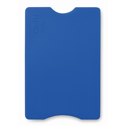 RFID Credit card protector in blue