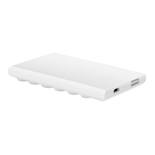 Power Bank Suction 2400 Mah in white
