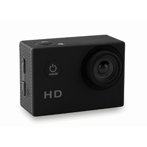 Sports camera                   in black