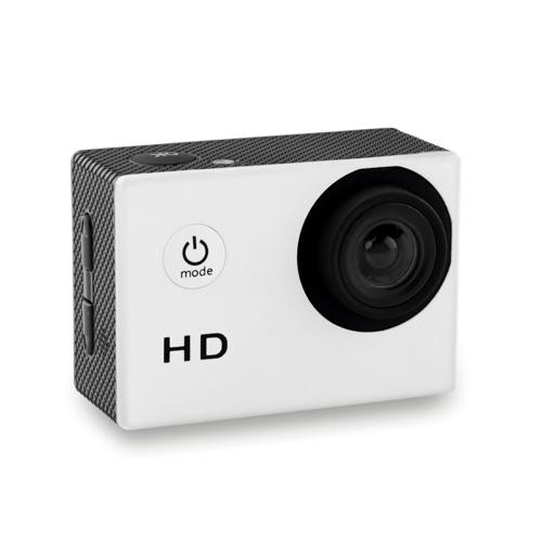 Sports camera                   in white