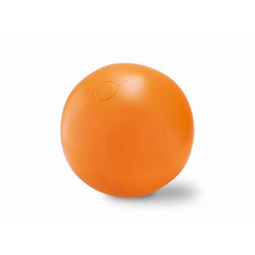 Large Inflatable beach ball     in orange