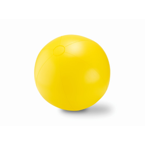 Large Inflatable beach ball     in yellow