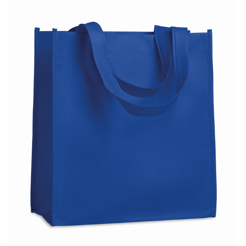 Nonwoven Heat Sealed Bag in royal-blue