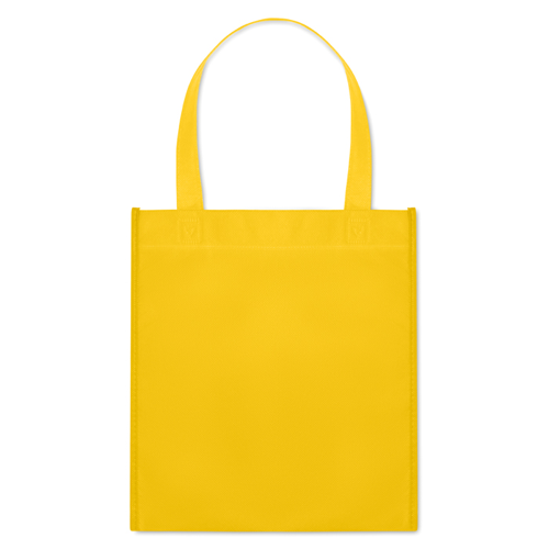 Nonwoven Heat Sealed Bag in yellow