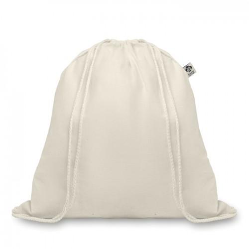Organic Cotton Drawstring Bag in