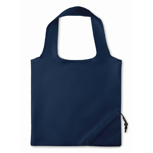 210D Foldable bag in blue