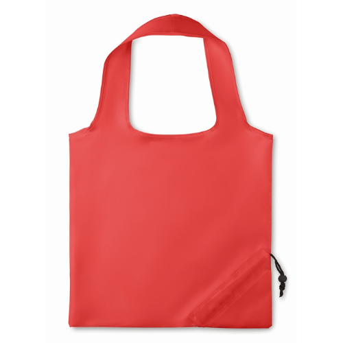 210D Foldable bag in red