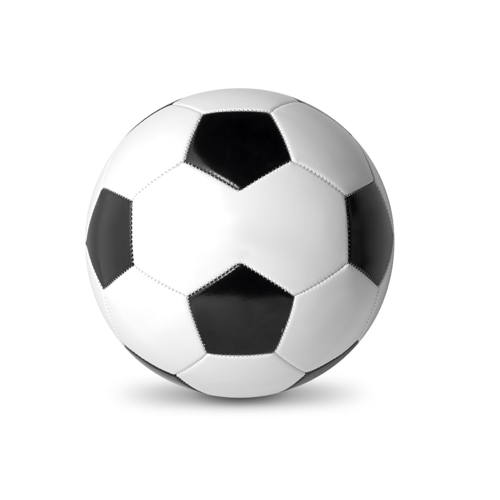 Soccer Ball in white-and-black