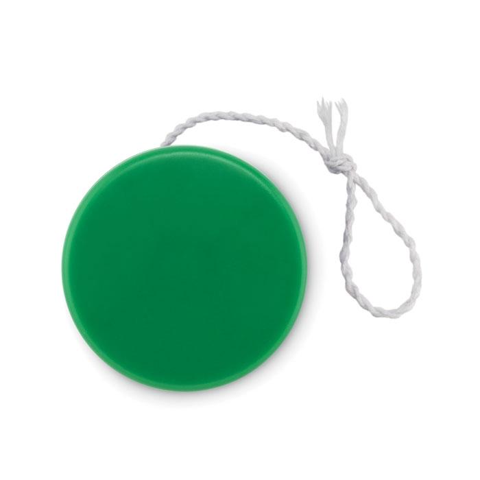 Plastic yoyo in green