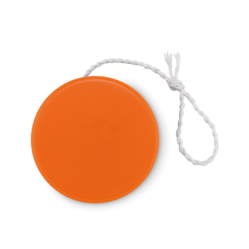 Plastic yoyo in orange