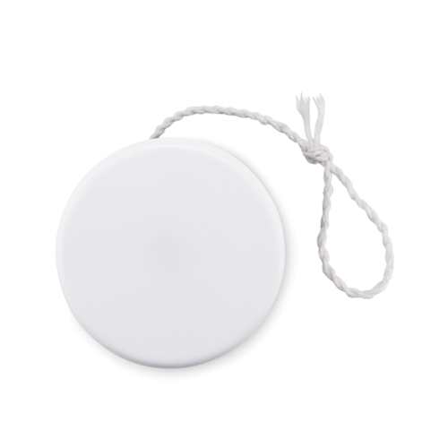 Plastic yoyo in white