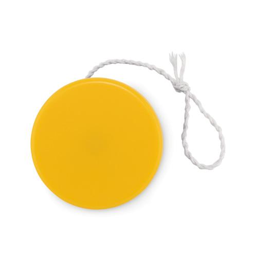 Plastic yoyo in yellow