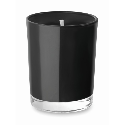 Scented Candle In Glass in black